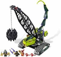 Lego Ninjago Set 9457 Fangpyre Wrecking Ball (Multicolor)