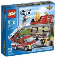 LEGO City Fire Emergency 60003 (Multicolor)
