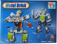 Mera Toy Shop Metal Diy Robot Play Set (Multicolor)