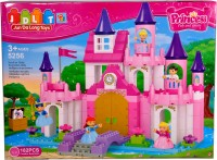 Mera Toy Shop Pincess Fashion Castle-182 PCS (Multicolor)