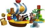 Lego Blocks & Building Sets Lego Duplo Jake's Pirate Ship Bucky