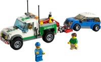 Lego Pickup Tow Truck (Multicolor)