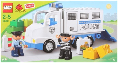 Buy Lego Police Truck: Block Construction