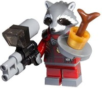 Guardians Of The Galaxy Lego, Exclusive Rocket Raccoon Figure (Bagged) (Multicolor)