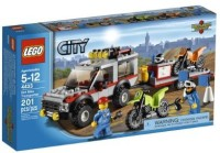 Lego City Town Dirt Bike Transporter 4433 (Multicolor)