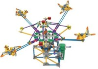 K'Nex Supersonic Swirl Building Set, 464 Pieces (Multicolor)