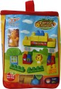 Venus-Planet Of Toys Blocks 60 Pieces In Eco Bag - Multicolor