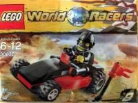 Lego World Racers Mini Set 30032 World Race Buggy Bagged (Multicolor)