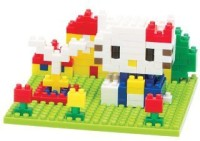 Nanoblock Hello Kitty In The Park (Multicolor)