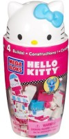 Mega Bloks Hello Kitty Popsicle Stand (Multicolor)
