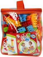 Planet Of Toys Learning Building Blocks (Set Of 139 Pcs) (Multicolor)