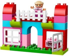 Lego All-In-One-Pink Box - Multicolor
