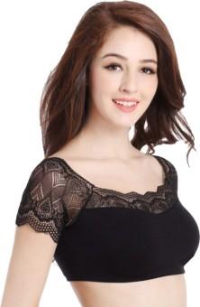 Florentyne By Tempting Lace Blouse - Princess Bra Women's Bralette Black Bra