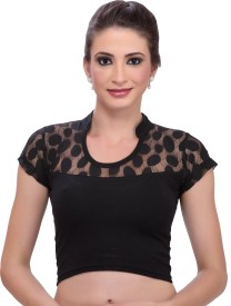 Msm Band collar Women's Blouse