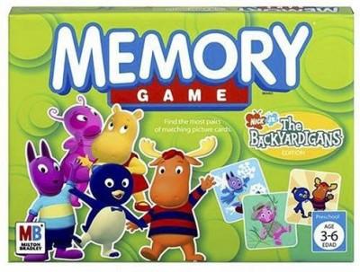 Hasbro Memory Game The Backyardigans Edition