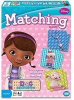 Wonder Forge Doc Mcstuffins Matching Board Game