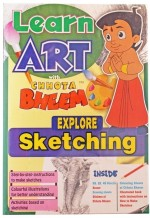 Chhota Bheem Board Games Chhota Bheem Sketching Board Game