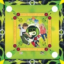 Ben 10 2 In 1 Carrom Board With Ludo Board Game