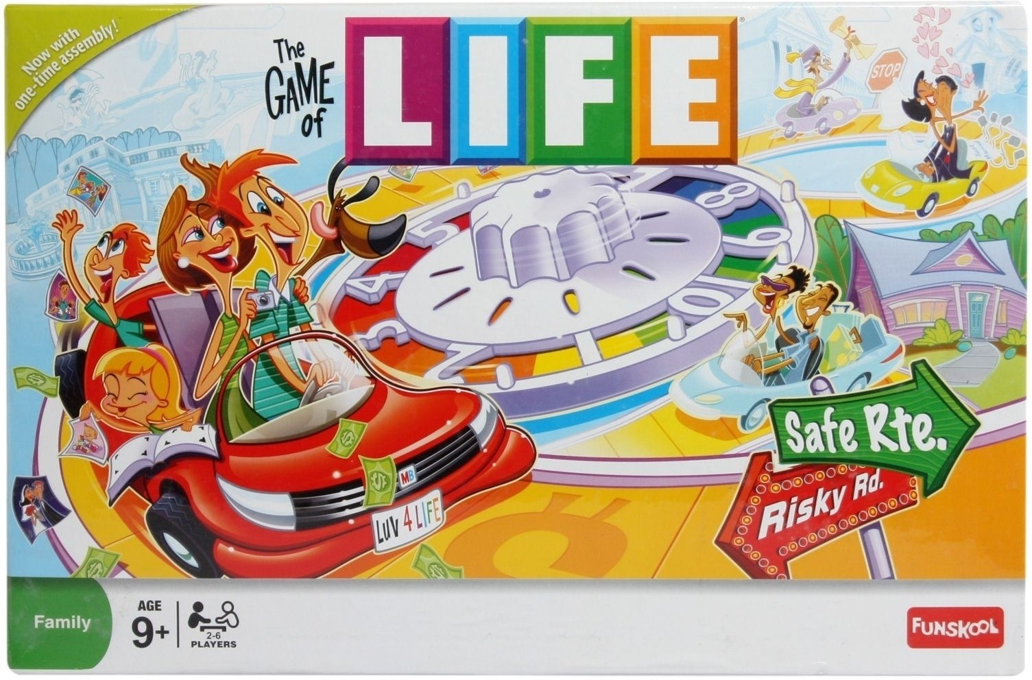 how to play funskool the game of life