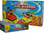 Sun Enterprises Board Games Sun Enterprises Spellex Cal Q Lative Board Game
