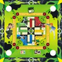 Itoys Ben 10 3-in-1 Carrom Board - Big Board Game