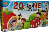 Sun Enterprises 20 In One Board Game