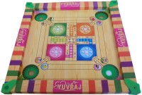 Duiken Carrom Board For Children With Ludo And Other Multi Purpose Usage Board Game
