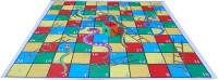 Atpata Funky 10x10 Ft Mat Snakes &Ladders & Dice 8inch (Regular Theme) Board Game
