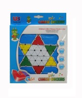 Starmark Children's Mini Chinese Checkers Set Board Game