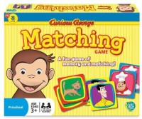 Wonder Forge Curious George Matching Board Game