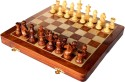StonKraft Collectible Wooden Folding Large Chess Game Set, Wooden Magnetic Crafted Pieces Board Game - BDGDWVJP5FGARFGT