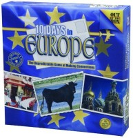 Out Of The Box 10 Days In Europe Board Game