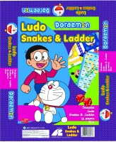 BPI Doraemon Ludo And Snakes & Ladders Board Game