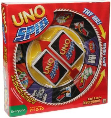Mattel UNO Spin Board Game at Rs 539 - Flipkart Lowest Price