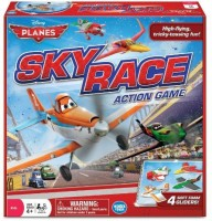 Wonder Forge Disney Planes Sky Race Red Board Game