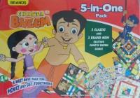 Brands Chhota Bheem 5 In 1 Board Game