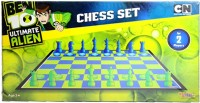 Sticker Bazaar Offically Licensed- Board Game Of Ben 10 Ultimate Chess Set Board Game