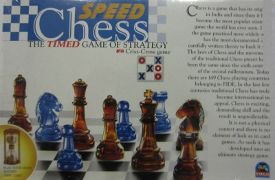 A P Products Board Games A P Products Speed Chess Board Game