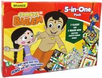 Brands Chhota Bheem 5 In One Board Game