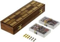 ShalinIndia MN-cribbage_board_10_inch Board Game
