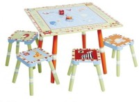 Levels Of Discovery Alphabet Soup Table And Stool Set Board Game