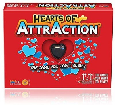 R & R Games Board Games R & R Games Hearts Of Attr Board Game