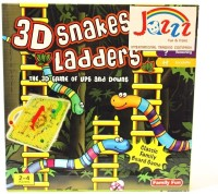 Jazzz ITC 3D Snakes And Ladders Board Game