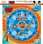 iToys Board Games iToys Metallic Dart & Writing Mickey Mouse & Frnd Board Game