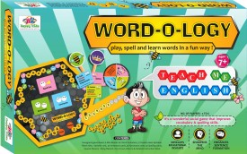 Jaibros WORD-O-LOGY spell and learn Puzzle Board Game