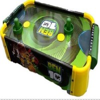 Taaza Garam Kids High Quality Imported Wooden Ben 10 Indoor Air Hockey Game Table - Gift Toy Board Game