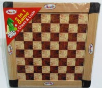 Annie 2 In 1 Chess & Ludo Board Game