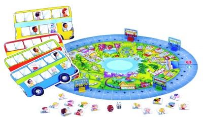 Bus Stop Board Game Toys Bus Stop Board Game