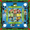 Ben 10 3 In 1 Carrom Board, Ludo And Stink Game Board Game
