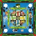 Ben 10 3 In 1 Carrom Board, Ludo And Stink Game Board Game: Board Game